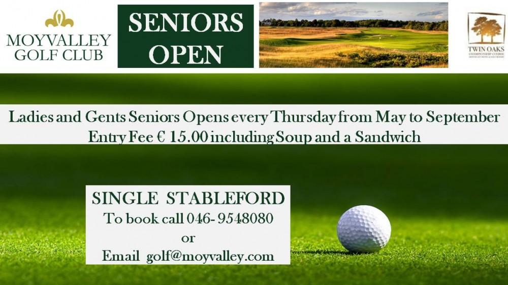 Senior Opens